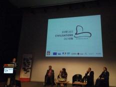Conférence Cité des Civilisations du Vin - Vinexpo - juin 2015