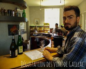 Dégustation des vins de Gaillac
